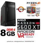 Gamer PC: AMD RYZEN 5 3600  6 magos CPU+Radeon RX5600XT 6GB VGA+8GB DDR4 RAM