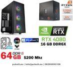 Gamer PC: AMD RYZEN 3700X 8 magos CPU+GTX 1650 4GB VGA+8GB DDR4 RAM