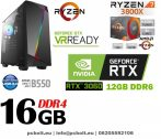 Gamer PC: AMD RYZEN 8 magos CPU+RTX 2070 8GB VGA+16GB DDR4 RAM