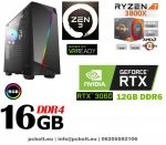 Gamer PC: Intel Core i3 3.6Ghz CPU + AMD Radeon RX 560 4GB DDR5 VGA + 8GB DDR3 RAM