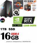 Gamer PC: Intel  Core i5 4magos CPU + AMD Radeon RX 560 4GB DDR5 VGA + 8GB DDR3 RAM