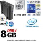 Vékony PC: Intel Core i3 CPU+4GB DDR4 RAM+120GB SSD