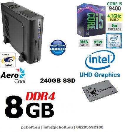 Vékony PC: Intel Core i5 CPU+8GB DDR4 RAM+120GB SSD