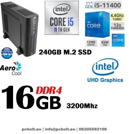 Vékony PC: Intel Core i5 CPU+8GB DDR4 RAM+120GB SSD+GTX 1050 2 GB VGA
