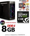 Gamer PC: AMD Ryzen 1200  4 magos CPU+ Nvidia GTX 1050 2GB VGA+4GB DDR4 RAM