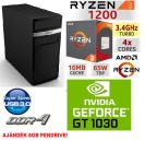 Gamer PC: AMD Ryzen 1200  4 magos CPU+ Nvidia GT 1030 2GB VGA+4GB DDR4 RAM