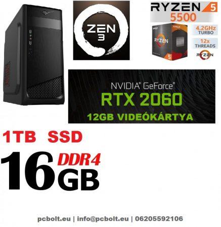 Gamer PC: AMD Ryzen 1300X  3.7 Ghz 4 magos CPU+ Nvidia GTX 1060 3GB VGA+ 8GB DDR4 RAM