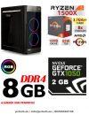 Gamer PC: AMD Ryzen 1300X  3.7 Ghz 4 magos CPU+ Nvidia GTX 1050 2GB VGA+8GB DDR4 RAM