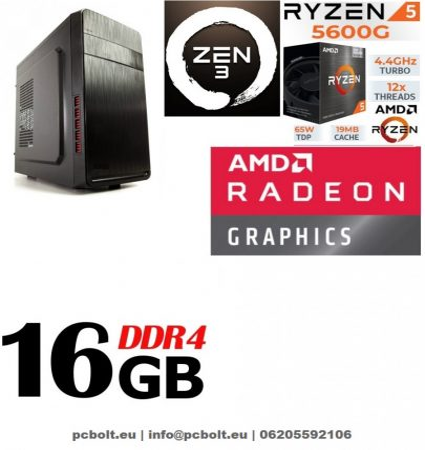 Premium PC  AMD Ryzen 5 2400G max. 3.9 Ghz 4 magos CPU+ 240 GB SSD+16GB DDR4 RAM