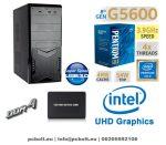 Asztali PC: Intel Pentium GOLD  G5400 CPU+120GB SSD+4GB DDR4 RAM