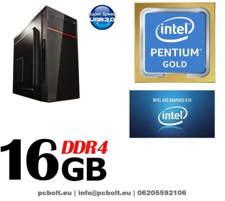 Komplett számítógép: AMD 2 magos 3Ghz CPU+Radeon R5 230 2GB videókártya