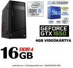 Gamer PC: Intel Core i5 6 magos CPU+ Nvidia GTX 1050 2GB VGA+8GB DDR4 RAM