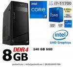 Asztali PC: Intel Core i7 6 magos CPU+8GB DDR4 RAM+1TB HDD