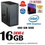 Premium PC Intel Core i7 6 magos cPU + 120 GB SSD+1TB HDD+8GB DDR4 RAM