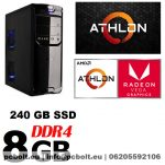 Office PC: AMD 4 magos CPU+120GB SSD+8GB DDR4 RAM