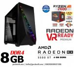 Gamer PC: AMD 7700K 3.5 Ghz 4magos CPU + AMD Radeon RX 550 2GB DDR5 VGA + 4GB DDR3 RAM