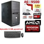 Komplett számítógép: AMD A8 max.3.8Ghz FM2 4 magos CPU