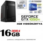 Gamer PC: Intel Core i5 6magos CPU 9. Generáció! + Nvidia RTX 2060 6GB VGA+ 8GB DDR4 RAM