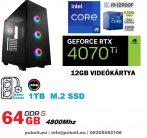 Gamer PC: Intel Core i7 6 magos CPU+ Nvidia  RTX 2060 6GB VGA+ 8GB DDR4 RAM