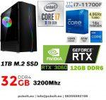 Gamer PC: Intel Core i7 8 magos CPU+ Nvidia RTX 2060 6GB VGA+ 16GB DDR4 RAM+240GB SSD