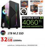 Gamer PC: AMD RYZEN 7 2700 8 magos CPU+Nvidia RTX 2060 6GB VGA+16GB DDR4 RAM