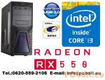Gamer PC: Intel Core i3 3.6Ghz CPU+AMD R7 250 2GB vga+4GB DDR3 RAM