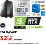 Gamer PC: Intel Core i5  4 magos CPU+Nvidia GTX 1050 2GB VGA