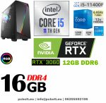 Gamer PC: Intel Core i5  4 magos CPU+Nvidia GTX 1050 2GB VGA