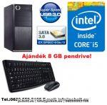Komplett számítógép: Intel Core i5 4 magos Haswell 3.2Ghz CPU