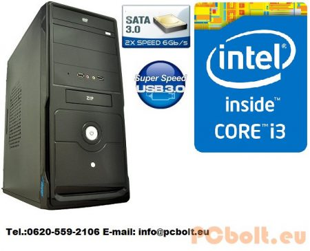 Core i3 Desktop PC 3.6Ghz+4GB DDR3 RAM