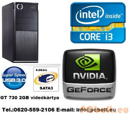Core i3 Desktop PC 3.6Ghz  +GT730 2GB VGA+8GB DDR3 RAM
