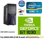 Gamer PC Core i5 4 magos CPU+GT 1030 2GB VGA+8GB DDR3 RAM