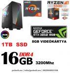 Fatal1ty Gamer PC: Intel Core i7 3.7Ghz CPU+AMD Radeon RX 480 4GB DDR5 VGA+16GB DDR4 RAM+120GB SSD