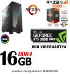 Fatal1ty Gamer PC: Intel Core i7 3.4Ghz CPU+AMD Radeon RX 480 4GB DDR5 VGA+16GB DDR4 RAM+120GB SSD