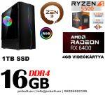 Fatal1ty Gamer PC: Intel Core i7 3.4Ghz CPU+Nvidia Geforce GTX1060 6GB vga+16GB DDR4 RAM+120GB SSD