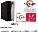 Office PC: AMD A10 3.5Ghz 4 magos CPU+120GB SSD+4GB DDR4 RAM