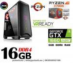 Fatal1ty Gamer PC: Intel Core i7 3.7Ghz CPU+AMD Radeon RX 480 8GB VGA+16GB DDR4 RAM+120GB SSD