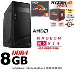 Gamer PC: AMD 8 magos max. 4 Ghz CPU+AMD R7 250 2GB vga+4GB DDR3 RAM