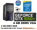 Gamer PC Core i3 CPU+GTX 1050Ti 4GB VGA+4GB DDR3 RAM