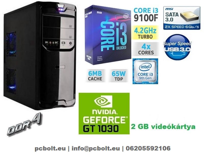 7d766330f574 Gamer PC: Intel Core i3 4 magos CPU+ Nvidia GT 1030 2GB VGA+4GB DDR4 RAM